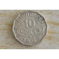 Сейшелы/Сейшельские острова/    10 центов 1965