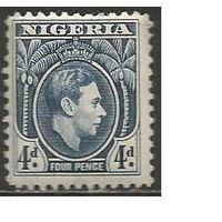 Нигерия. Король Георг VI. 1938г. Mi#56.