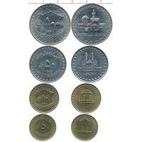 Иран НАБОР 4 монеты 1993 UNC