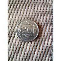 20 грошей 2013г. Польша