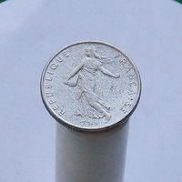 Франция 1/2 франка 1986