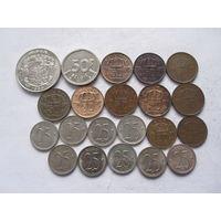 Бельгия 21 монета
