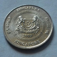10 центов, Сингапур 2003 г.
