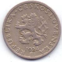 Чехия, Первая Республика, 20 геллеров 1924 года.