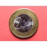 2 евро 2000 года папа Иоанн Павел II (так понимаю, некая пробная партия)