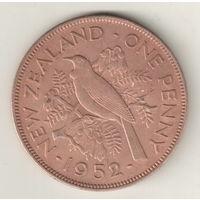 Новая Зеландия 1 пенни 1952