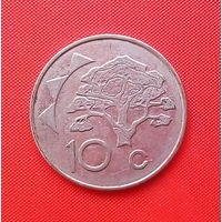 54-02 Намибия, 10 центов 1998 г.