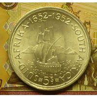 ЮАР 5 шиллингов 1952 г
