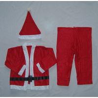 Костюм карнавальный Санта. Разные размеры - для мальчиков или девочек. Новый в упаковке. Недорого!