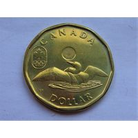 "Канада 1 доллар 2014 ""ЗОИ в Сочи"""