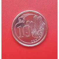 63-35 Сингапур, 10 центов 2013 г.