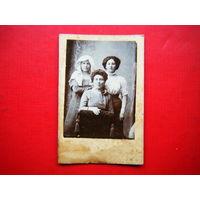 Фотография начало 20 века. Белоруски евреи г. Гомеля.