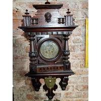 Часы настенные рабочие Kienzle 1889 год. торг
