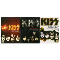 KISS - Kissology. The ultimate Kiss collection 1974-2000 (3 тома на 10 ДВД!)