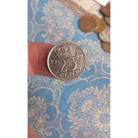 320# 25 центов 1977. нидерланды