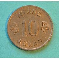 10 аурар 1961. Исландия