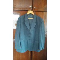Шерстяной пиджак большой