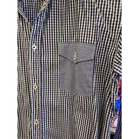 Рубашка мужская фирменная, бренд ZARA MAN,