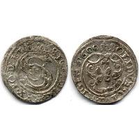 Шеляг 1600, Сигизмунд III Ваза, Рига, R