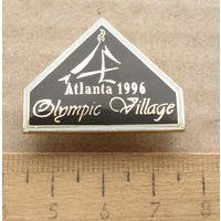 Значок Олимпиада Атланта 1996 Олимпийская деревня