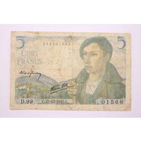 Франция, 5 франков 1943 год