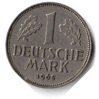 Германия. 1 марка. 1965 F