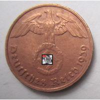 Третий рейх. 2 рейхспфеннига 1939 G  2-135