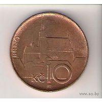 Чехия, 10 koruna, 1996г