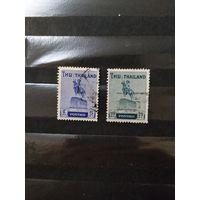 Старенькие марочки Таиланда король (4-5)
