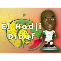 El Hadji Diouf Сенегал 5 см Фигурка футболиста MC4555