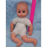 Винтажный пупс, мягконабивная кукла