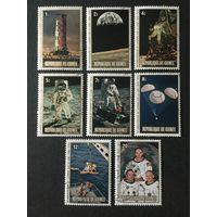 10-ти летие высадки на луну. Гвинея,1980,серия 8 марок