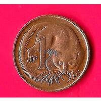 27-17 Австралия, 1 цент 1969 г