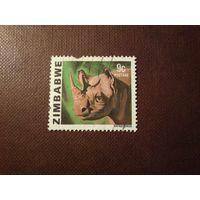 Зимбабве 1980 г .Черный носорог./3а/