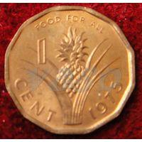 5176:  1 цент 1975 Свазиленд