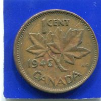 Канада 1 цент 1946