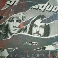 Status Quo /Live/1977, 2LP, VG+, Vertigo, Germany