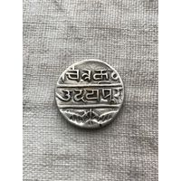 Индия княжество Мевар 1 рупия, редкость