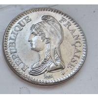 Франция 1 франк, 1992 200 лет Французской Республике 4-14-14
