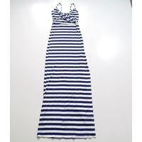 Платье-сарафан Boohoo в пол в морском стиле р-р 40-42