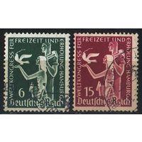1936 - Рейх - Конгресс в Гамбурге Mi.622-23_ гаш