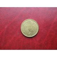 10 евроцентов 2008 год Австрия (р)
