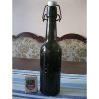 Старинная пивная бутылка. Германия, первая половина 20 столетия. (4).