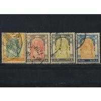 Сиам Таиланд 1905 Рама V Чулалонгкорн Стандарт #47,52,55,60