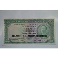 Мозамбик 100 метикал образца 1976 года AUNC