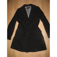 Фирменное итальянское кашемировое пальто Tuwe р-р 44-46!!