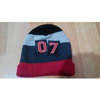Теплая шапка на 5-10 лет