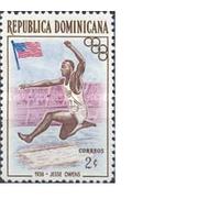 Доминиканская республика Спорт 1957 атлеты Оунс прыжки