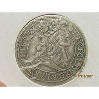 15 крейцеров Леопольда 1678 г.