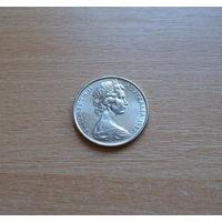Австралия, 20 центов 1982 г., молодая королева, неплохое состояние